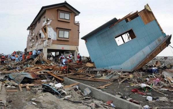 earthquake japan